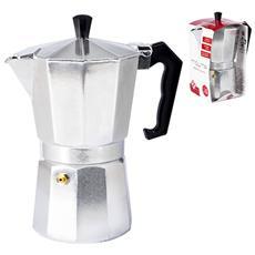 Caffettiera Alluminio Mokita Tazze 6 Caffettiere E Ricambi