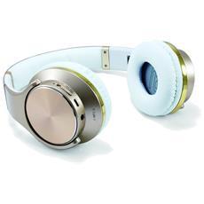 Cuffie Wireless CHSPBTNFCSPKG Bluetooth Colore Oro
