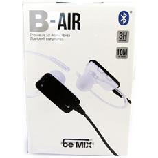auricolare bluetooth 'b-air' bianco (in mix) - [ l9030]