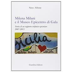 Milena Milani e il Museo Epicentro di Gala. Storia di un rapporto telefonico-epistolare 2007-2013