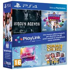 PS4 - PlayLink Software Bundle: Hidden Agenda + Sapere è Potere + Singstar Celebration + Dimmi Chi Sei