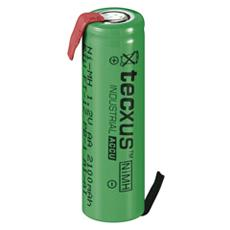 IBT-KRU2100-RTU - Batteria Ni-Mh AA 2100 mAh ''Pronte all'uso'' da saldare FT-1Z