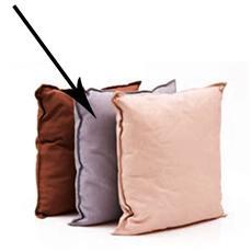 Cuscino per dondoli e sedie cm 45x45 colore grigi da esterno