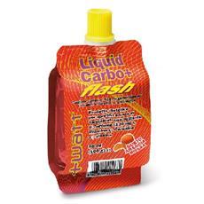 watt liquid carbo flash - prodotto dietetico per sportivi gusto arancia rossa - 80 ml