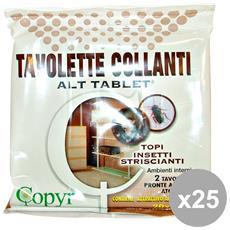 Set 25 Topicida Tavolette 19x14 Cm. Articoli Per Insetti