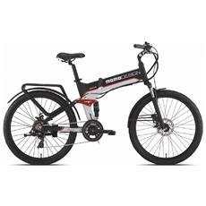 City Bike Elettrica Momo Design Full-suspension 26