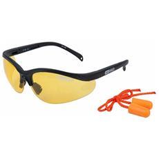 Occhiali Di Sicurezza Con Tappi Auricolari Gialli 310.0166