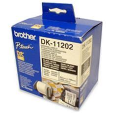 Etichette Dk-11202 Conf. 300pz Adesive 62x100mm X Ql-500 Ql-550 Ql-1050 Ql-1050n Ql-570 Ql-700 Ql-710w Ql-800 Ql-810w