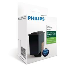 PFA441 Cartuccia Ink Originale Nera per Philips Faxjet 500 Capacità 500 Pagine