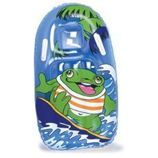 Gioco gonfiabile surf per bambini con maniglia da mare e piscina