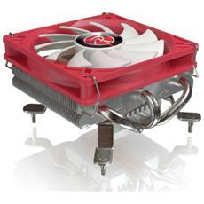Dissipatore ZELOS Per CPU Intel Socket 1156 / 1155 / 1150 e AMD Socket AM2 / AM2+ / AM3 / AM3+ / FM1 / FM2 / FM2+ Ventola PWM