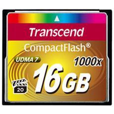 Compact Flash 16GB 1000x