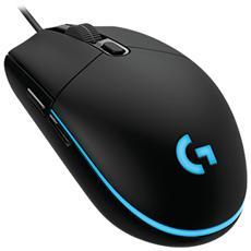 LOGITECH - Mouse Gaming USB Ottico G203 Prodigy 3 Tasti 6000...