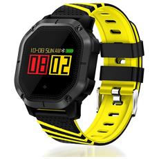 Smart Band K5 Activity Tracker Fitness Cardio Waterproof Ip68 Bluetooth Notifiche Multisport Giallo