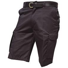 Harbour Lights Pantaloni Corti Cargo Da Lavoro Uomo (girovita 86cm) (nero)