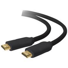 Cavo Audio / Video HDMI Standard Maschio / Maschio da 1.5 Metri Colore Nero
