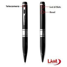 Penna Spia In Hd Con Telecamera Nascosta Alta Qualità Video Slot Microsd Fino A 32gb Risoluzione Video 2560 X 1440