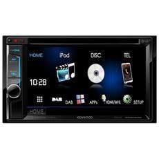 """Sintolettore CD DDX5016DAB-EU Display Touchscreen da 6.2"""" colore Nero"""