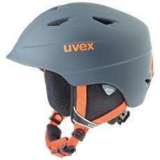 airwing 2 pro, Snowboard / Ski, Grigio, Arancione, Policarbonato, Ragazzo / Ragazza, ASTM F 2040 / EN 1077 B