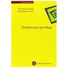 Statistica per psicologi