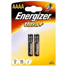 Pile Energizer Ultra+ - microstilo - AAAA - 1,5 V - 633477 (conf. 2)
