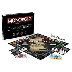 Game Of Thrones Board Game Monopoly *french Version*