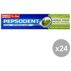 Set 24 Dentifricio Herbal Fresh 100 Ml. Prodotti Per Il Viso