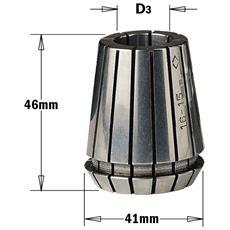 "Pinza Elastica """"er-40"""" (mm41x46) D=9.52mm (3/8"""") 184.096.00"