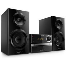 BTB2370, Micro set, Nero, AC, CD, CD-R, CD-RW, Fast backward, Avanzamento rapido, Next, Previous, Programma, Ripeti, Casuale, DAB, DAB+, FM