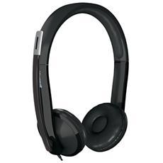 LIFCHAT LX6000 Cuffie Stereo con Microfono USB cavo 2.1 mm - Nero