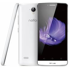 "Neffos C5L Bianco 8 GB 4G/LTE Dual Sim Display 4.5"" Slot Micro SD Fotocamera 8 Mpx Android Italia"