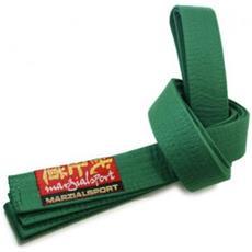 Cintura Arti Marziali Colorata 4 Verde