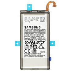 Eb-ba530abe Batteria Galaxy A8 2018 Batteria Originale 3000mah - Nero