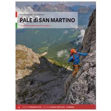 Pale di san martino. arrampicate scelte, classiche e moderne