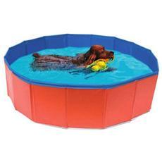 Piscina per cani con diametro di 120 x h 30 cm