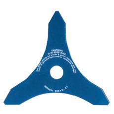 Disco in acciaio speciale a tre denti per decespugliatori