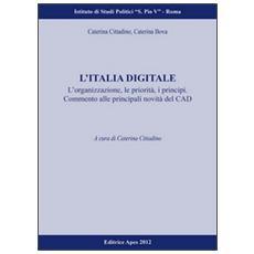 L'Italia digitale. L'organizzazione, le proprietà, i principi. Commento alle principali novità del CAD