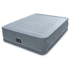 64414 Materasso Comfort Plush Cm 152X203X46 Con Pompa Interna