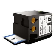 Nastro in Poliolefine per Etichettatrice Formato 24 x 47 mm Nero su Bianco