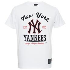 T-shirt Uomo Rouse Graphic Nyy M Bianco