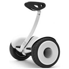 """Hoverboard Ninebot Mini con Auto-bilanciamento Bluetooth Ruote 10.5"""" Colore Bianco"""