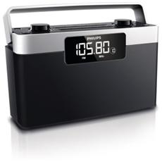 AE2430 Radio Sveglia Portatile Sintonia Digitale
