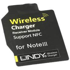 Adattatore Qi per Samsung Note 3, per stazione di ricarica Wireless