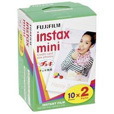 Carta Fotogrica Istantanea 10x2 Pack per Instax Mini