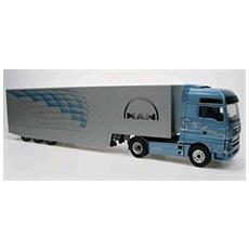 66158 Man Tga Xxl Tractor Trailer 1/50 Con Modellino