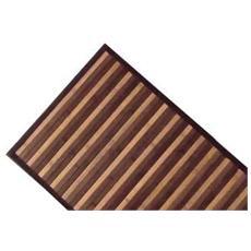 Tappeto In Bamboo Marrone 50x75