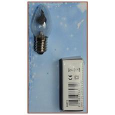 Lampada Effetto Fiamma 5,5x2,3cm Accessori Presepe