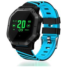 Smart Band K5 Activity Tracker Fitness Cardio Waterproof Ip68 Bluetooth Notifiche Multisport Blu
