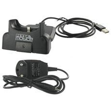 GRJMUC28, Docking, USB 2.0, Mio, P350, P550, Nero, Plastica