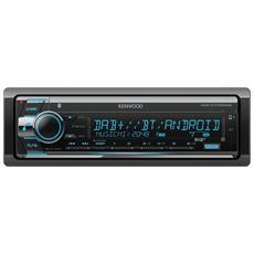 KDC-X7100DAB Bluetooth Nero autoradio